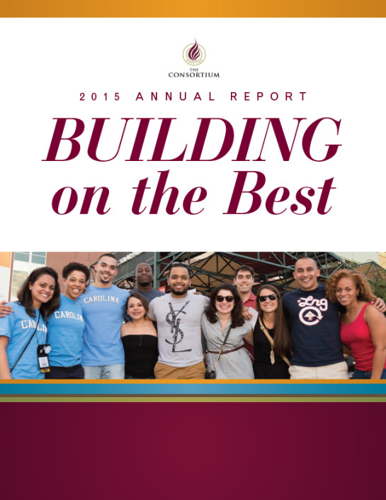 The Consortium for Graduate Study in Management FY 2015 Annual Report Cover