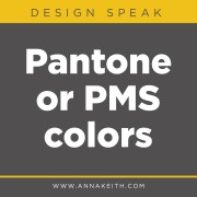 Pantone or PMS colors